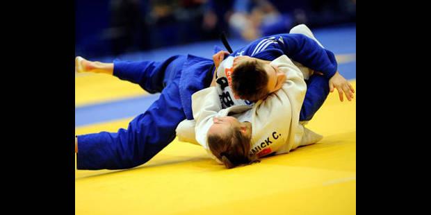 Charline Van Snick échoue au pied du podium en -48 kg aux Mondiaux de judo - La DH
