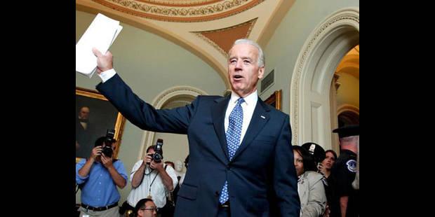 """Joe Biden : """"j'ai confiance dans l'adoption du projet de loi """" - La DH"""