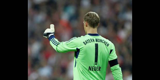 Manuel Neuer élu Joueur de l'année en Allemagne - La DH