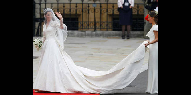 L'exposition de la robe de mariage de Kate: shocking ! - La DH