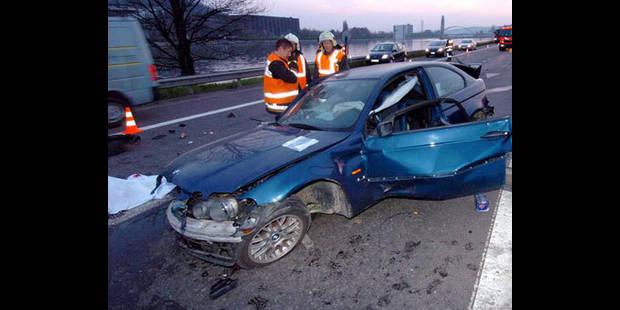 Accident mortel sur l'A8 � Tournai