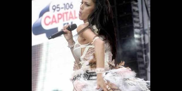 Nicole Scherzinger sans culotte - La DH