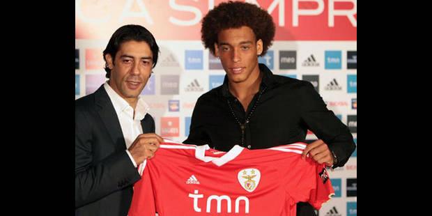 Pour Benfica, Witsel vaut 40 millions d'euros