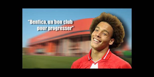 Benfica a proposé moins de 6 millions pour Witsel