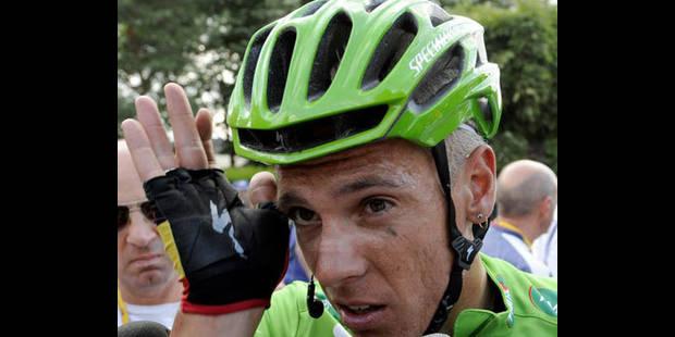 """Philippe Gilbert: """"Plus beau de rouler avec le maillot tricolore"""""""