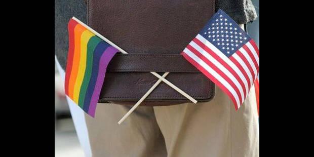 Nuit de célébration à New York après le vote sur le mariage homosexuel