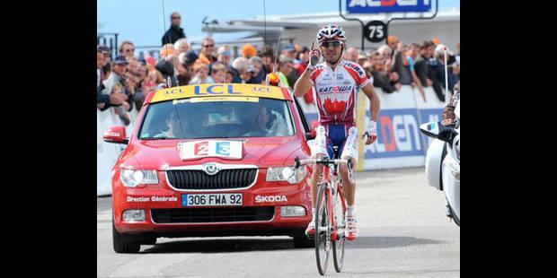Rodriguez gagne, Wiggins résiste