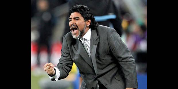 Argentine/Dopage - Maradona réitère ses accusations contre Grondona - La DH