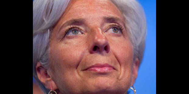 """FMI: Lagarde, officiellement candidate, table sur un """"large consensus"""""""