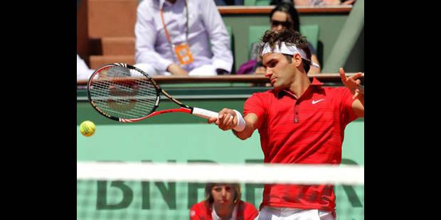 Federer et Fognini en quarts de finale de Roland Garros - La DH
