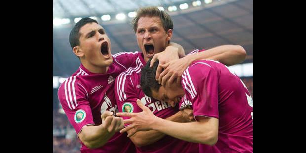 Schalke 04 remporte la Coupe d'Allemagne