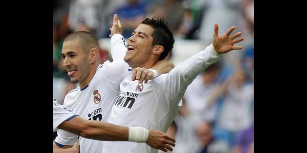 Avec 40 buts, Cristiano Ronaldo dans l'histoire