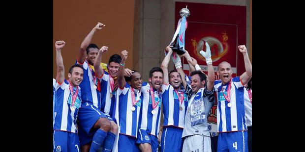le FC Porto s'offre le triplé