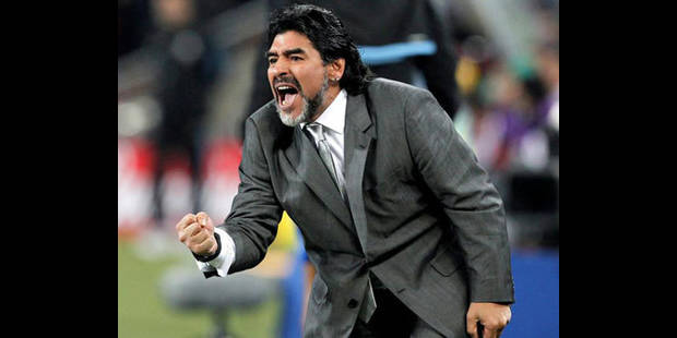 Maradona relance sa carrière d'entraîneur à Dubai