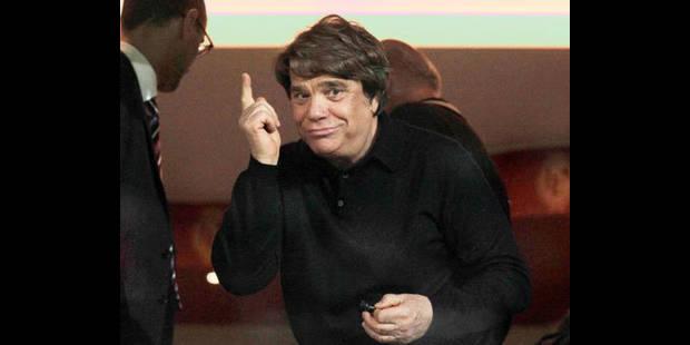 """Tapie: """"Moi investir au Standard? C'est du délire complet"""""""