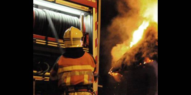 Violent incendie dans les Fagnes - La DH