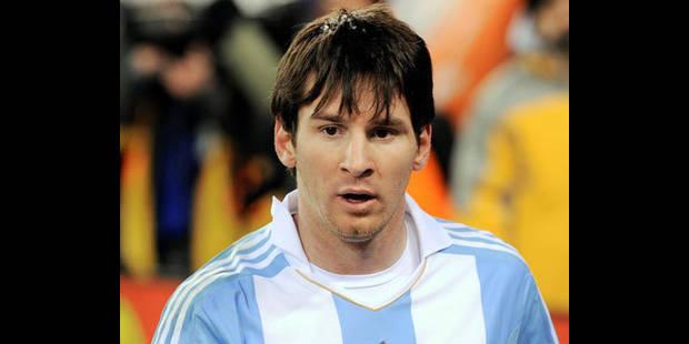 Pas de lésion pour Messi