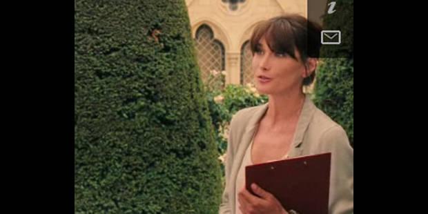 Premières images de Carla Bruni au cinéma sur internet - La DH