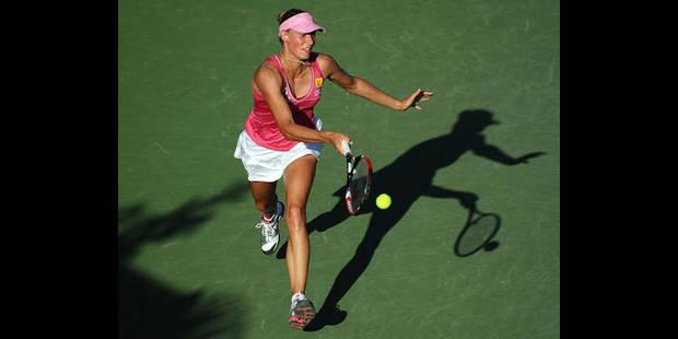Yanina Wickmayer éliminée par Elena Vesnina au 2e tour à Miami - La DH