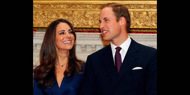 Environ 1.900 invités au mariage du prince William et de Kate - La DH