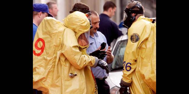 Alerte à l'anthrax dans une société à Tournai