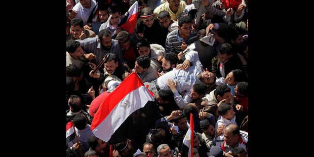 """Des partisans du raïs déchu manifestent en scandant """"Moubarak, nous t'aimons"""" - La DH"""
