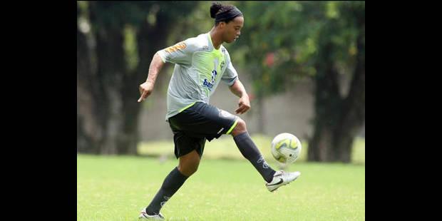 Débuts de Ronaldinho très attendus mercredi à Flamengo