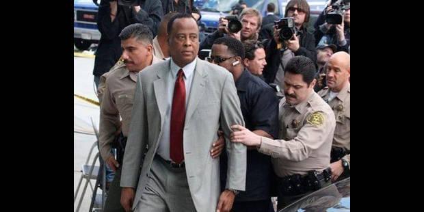 Le médecin de Michael Jackson plaide non coupable - La DH