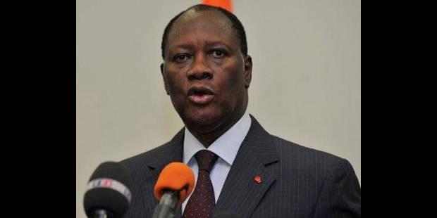 Manifestation pro-Ouattara devant l'ambassade de Côte d'Ivoire à Bruxelles - La DH
