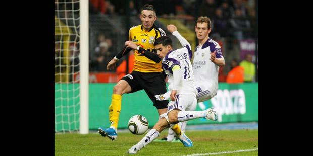 Anderlecht perd la tête du championnat au terme d'un piètre match nul
