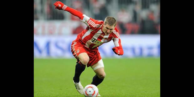 Transfert : Schweinsteiger prolonge au Bayern jusqu'en 2016
