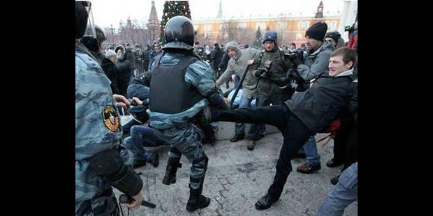 Supporter tué à Moscou: violence, slogans racistes et saluts nazis près du Kremlin