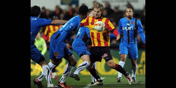 Le Club Bruges bat Malines!