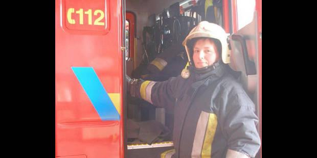 Une femme parmi les hommes du feu - La DH