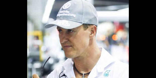 """Schumacher: """"Vous ne vous débarrasserez pas de moi"""" - La DH"""