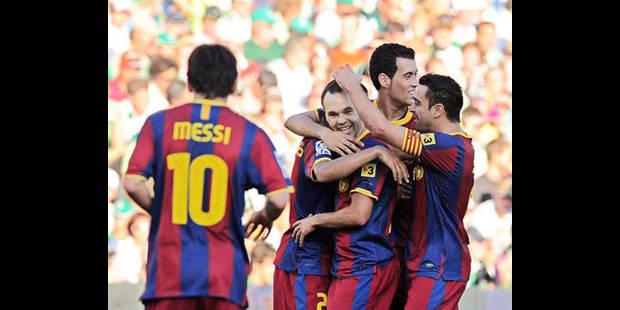 Barcelone, le club de foot préféré en Europe