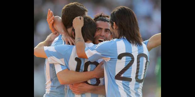 L'Espagne humiliée en Argentine (Vidéo)
