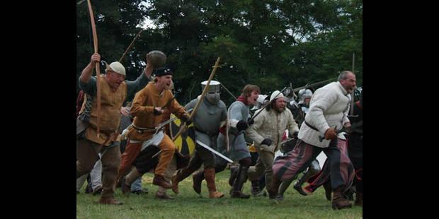 Succès pour le camp médiéval