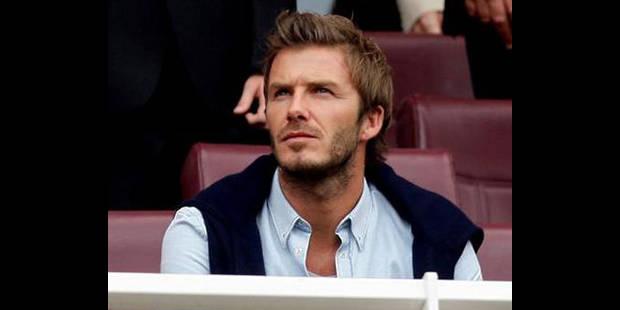 Beckham espère recommencer à jouer en septembre