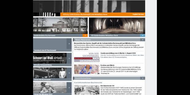 Le site du Mémorial de Buchenwald piraté par des néo-nazis - La DH