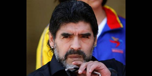 Diego Maradona écarté de la tête de la sélection argentine - La DH