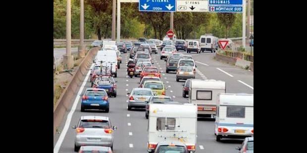 Près de 400 kms de bouchons en France - La DH