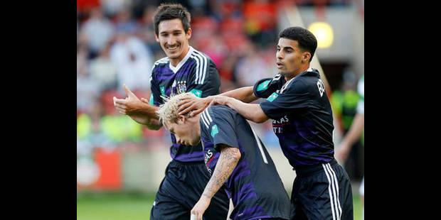 Anderlecht est (presque) qualifié (1-3) - La DH