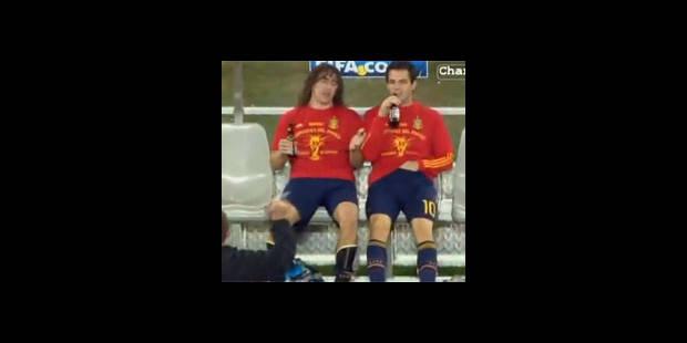 Fabregas pris la main dans le...slip (Vidéo) - La DH