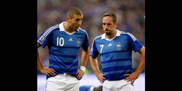 Franck Ribéry n'a pas été menotté selon la police