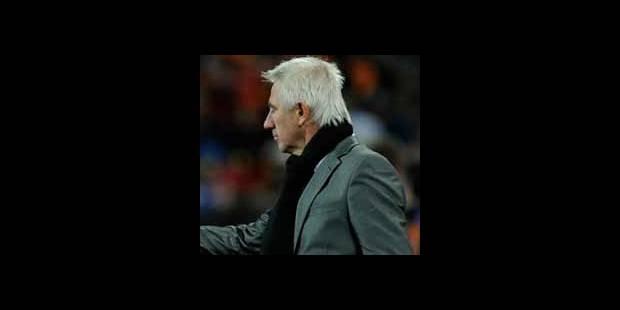 """Van Marwijk: """"les Espagnols aussi ont commis des fautes"""""""