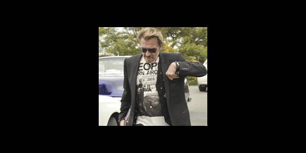 Johnny au cinéma avec Mickey Rourke