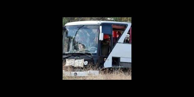 Un chauffeur de bus compl�tement saoul