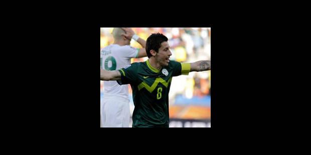 La Slovénie bat l'Algérie (1-0)