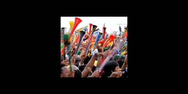 Vuvuzela: rupture de stock de bouchons d'oreille au Cap